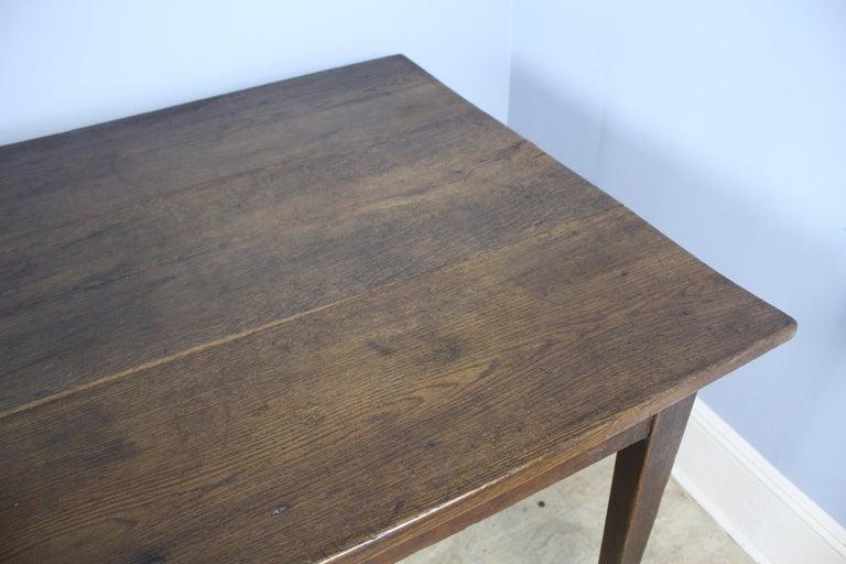 Antique Oak Farm Table 2