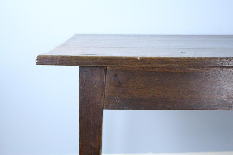 Antique Oak Farm Table 4