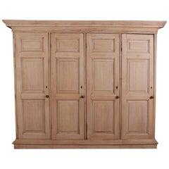 Antique Oak Housekeepers Cupboard