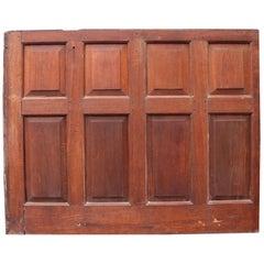 Antique Oak Panelling