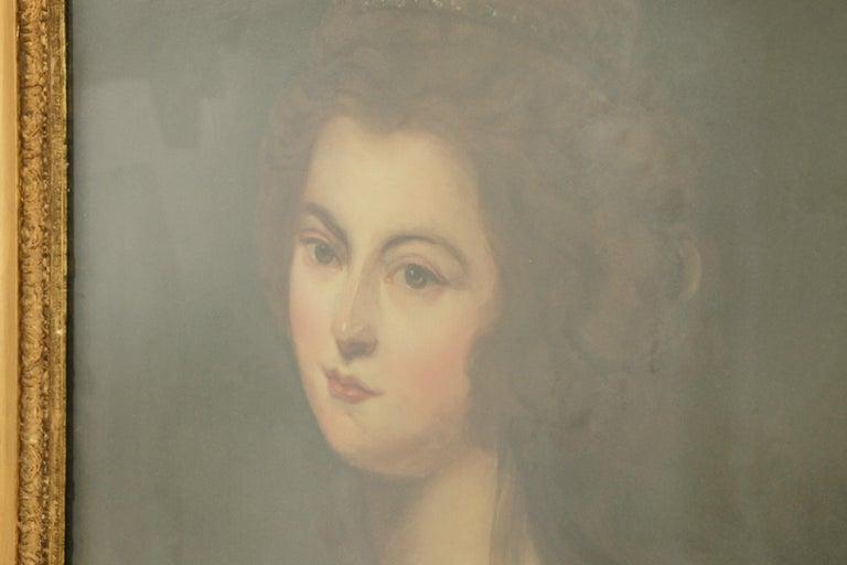 Antique oil painting, Diana McDonald,