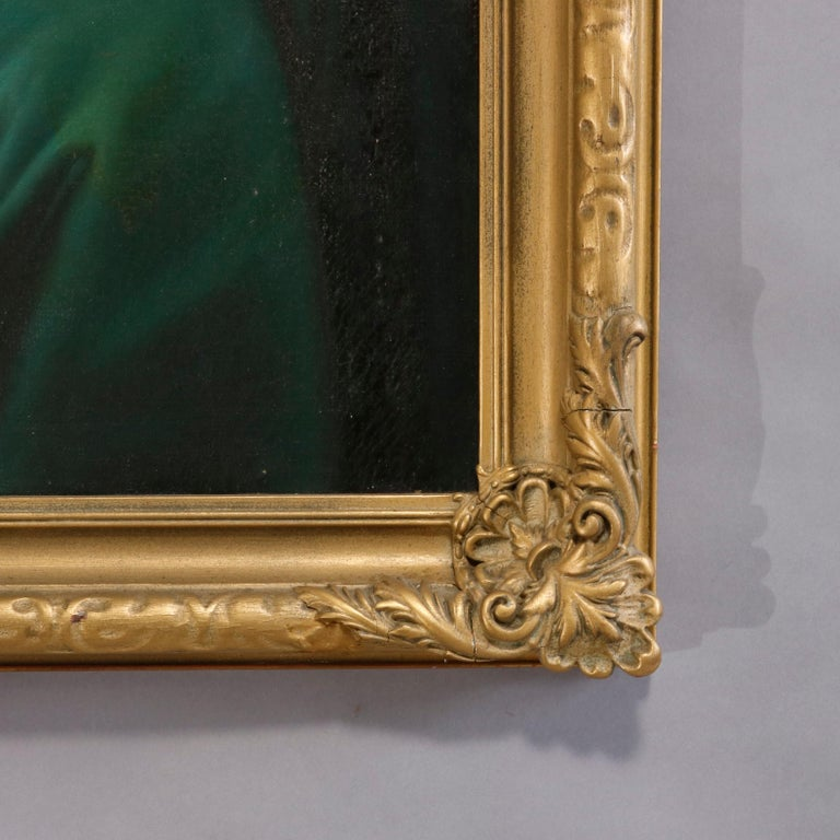 Oil Painting Old Master Copy after Raphael's Madonna Della Sedia, 19th Century For Sale 5