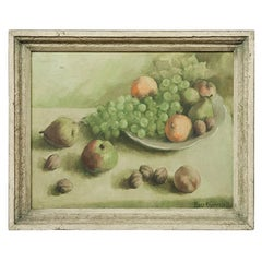 Antique Oil Painting on Canvas by Ferdy Naulaerts