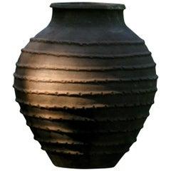 Antique Olive Pot, Spain, Terracotta Pot, 19th Century