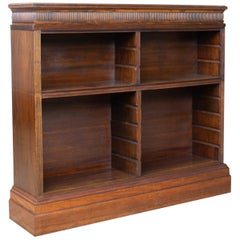 Antique Bookcase, English, Regency and Later, Bookshelves, Rosewood, circa 1830