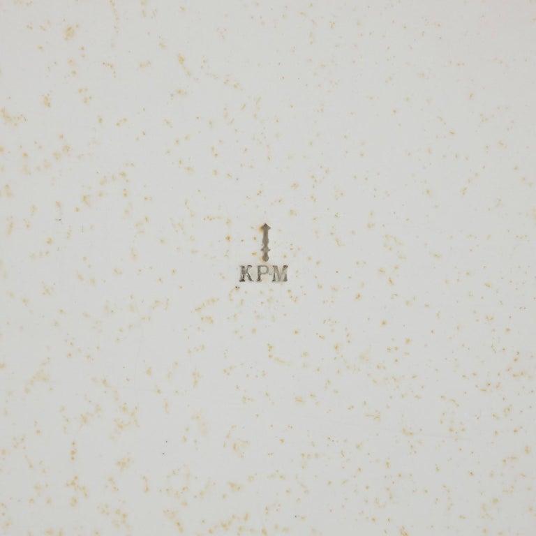 Orientalist German Painted KPM Style Porcelain Plaque For Sale 2