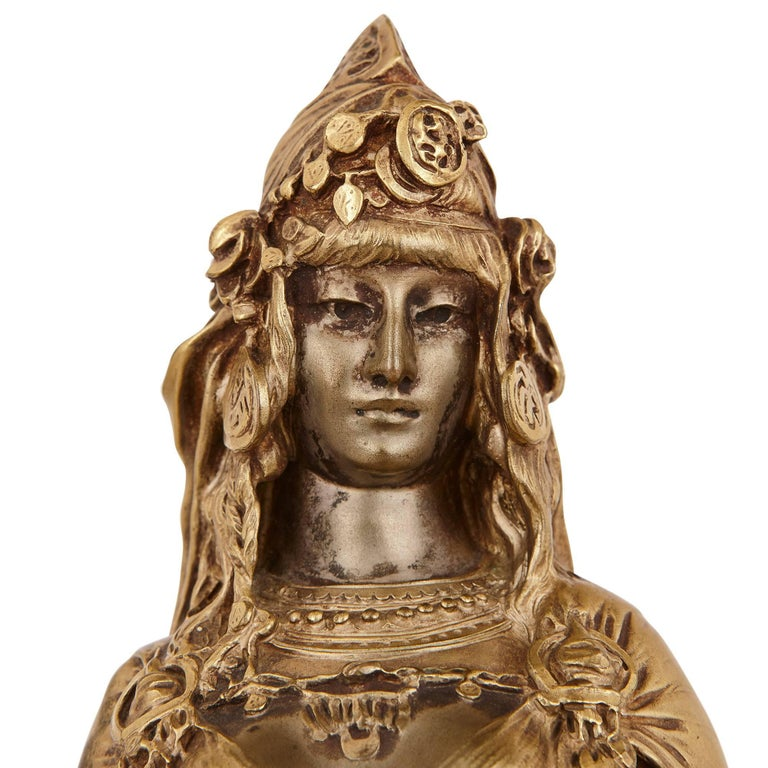 Antique Ormolu Sculpture 'Carthage' by Riviere and Susse Freres 3