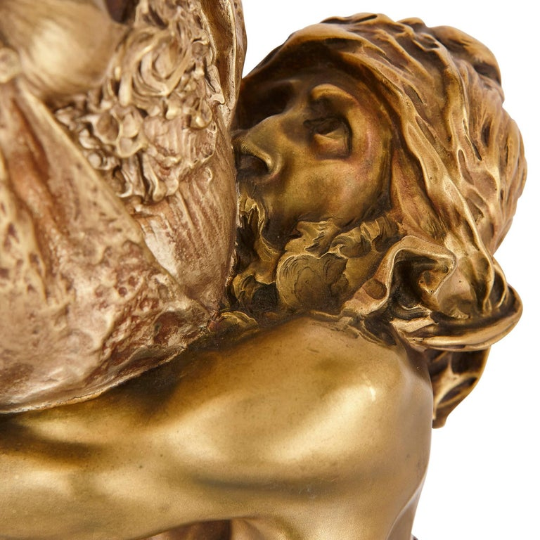 Antique Ormolu Sculpture 'Carthage' by Riviere and Susse Freres 4