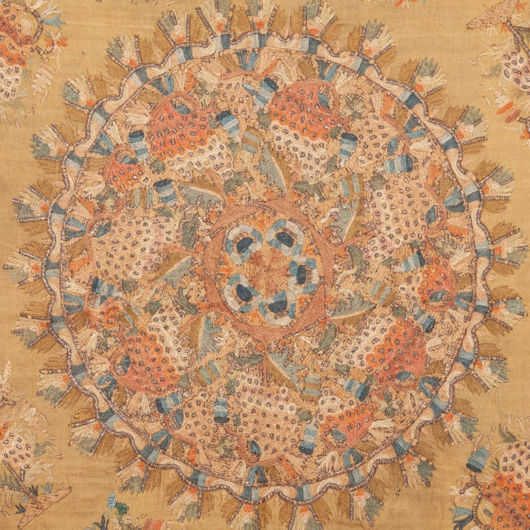The piece is previously published in Roderic Taylor's ottoman embroidery book.