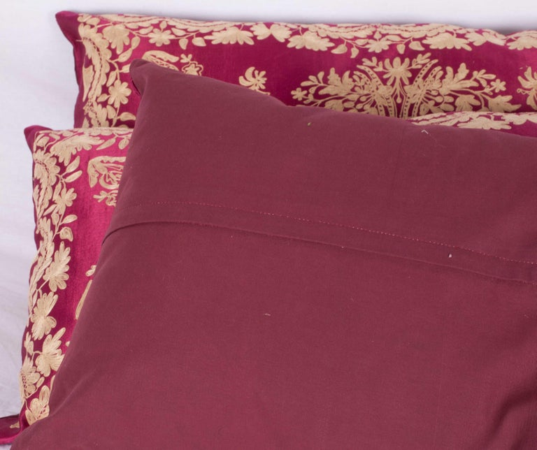 Antique Ottoman Turkish Pillow Cases Late 19th-Early 20th Century For Sale 3