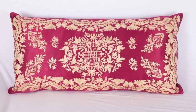Embroidered Antique Ottoman Turkish Pillow Cases Late 19th-Early 20th Century For Sale
