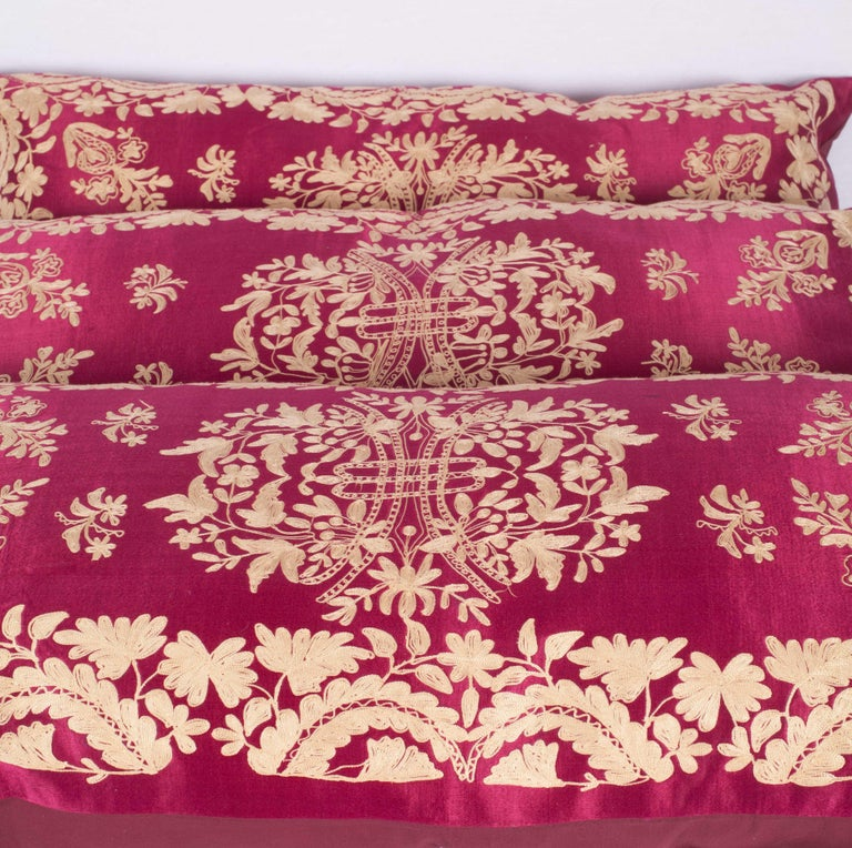 Antique Ottoman Turkish Pillow Cases Late 19th-Early 20th Century For Sale 2