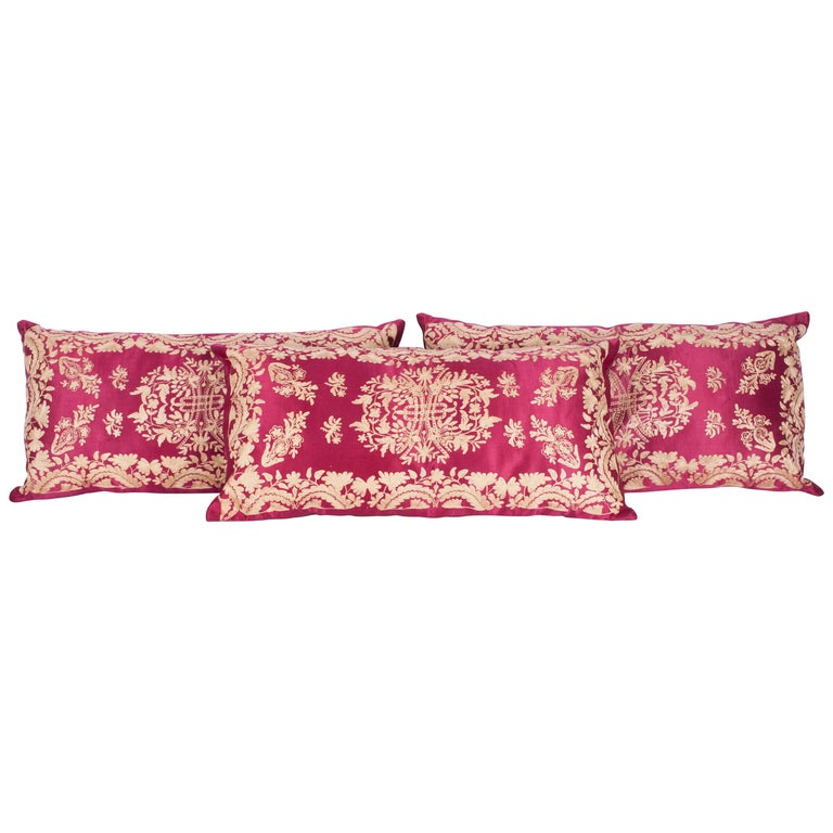 Antique Ottoman Turkish Pillow Cases Late 19th-Early 20th Century For Sale