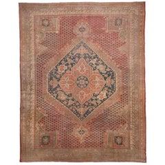 Antique Oushak Carpet, Unique