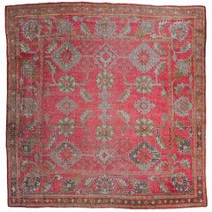 Antique Oushak Carpet, Western Anatolia