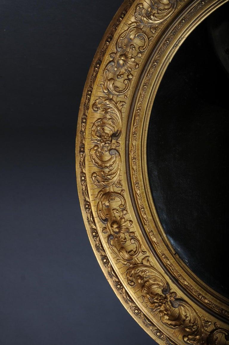 Antique Oval Biedermeier Gentlemen's Portrait / Painting, 19th Century For Sale 8