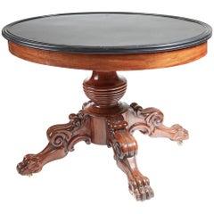 Antique Oval Marble-Top Guéridon Centre Table, circa 1820