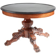 Antique Oval Marble-Top Guéridon Centre Table, circa 1820