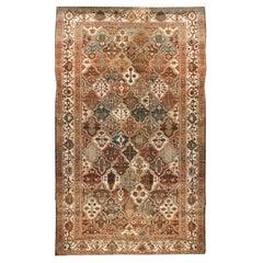 Antique Oversize Persian Baktiari Rug, circa 1910 14' x 20'2