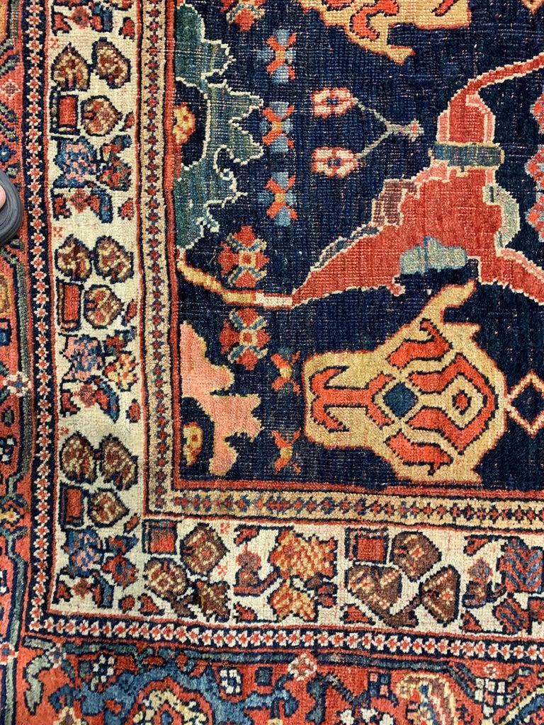 Antique Oversize Persian Bidjar Rug, circa 1880 For Sale 5