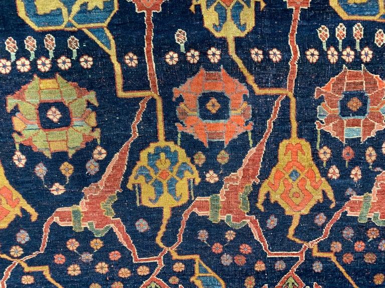 Antique Oversize Persian Bidjar Rug, circa 1880 For Sale 6