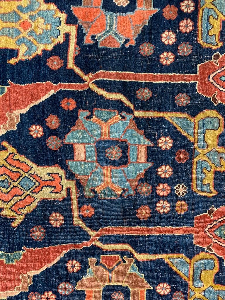 Antique Oversize Persian Bidjar Rug, circa 1880 For Sale 7