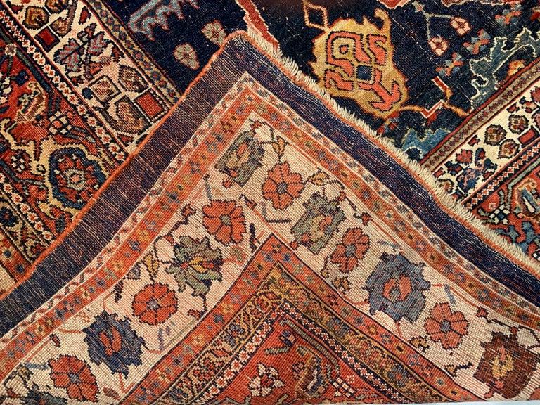 Antique Oversize Persian Bidjar Rug, circa 1880 For Sale 8