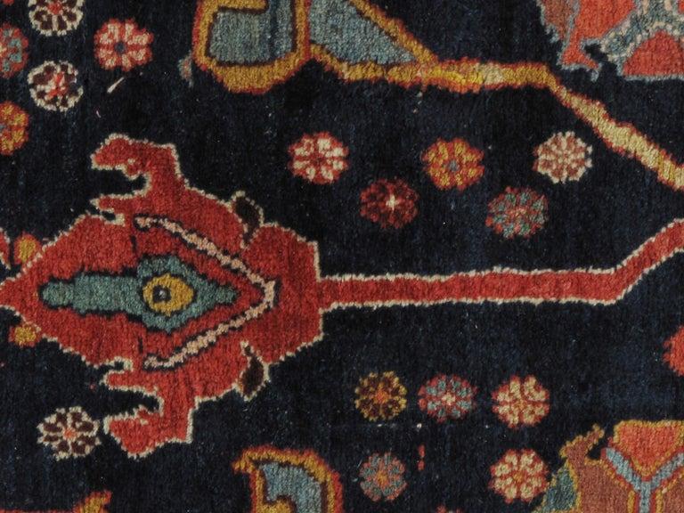 Hand-Woven Antique Oversize Persian Bidjar Rug, circa 1880 For Sale