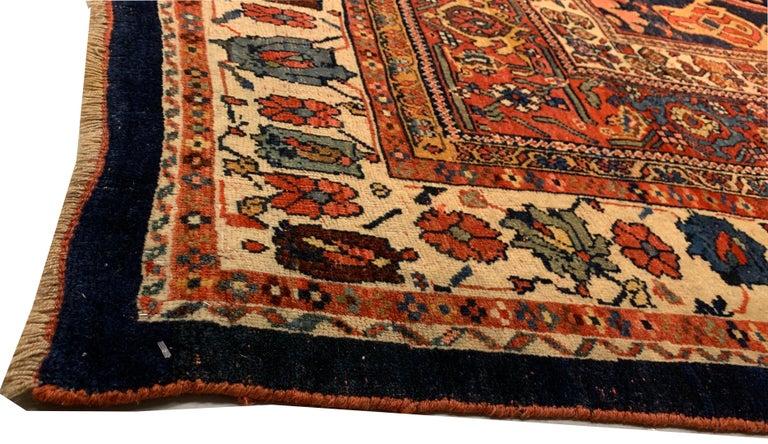 Antique Oversize Persian Bidjar Rug, circa 1880 For Sale 3