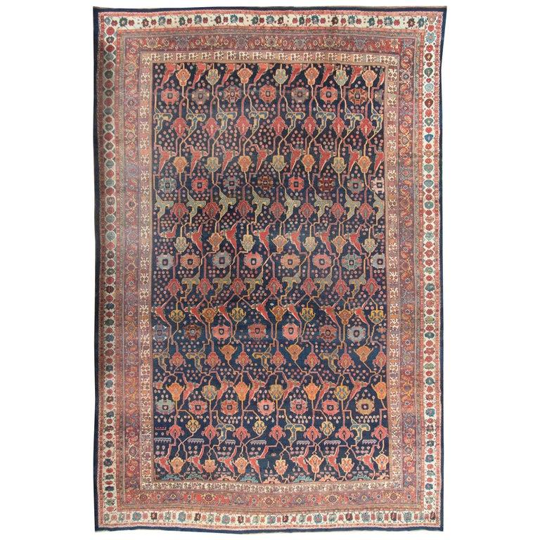 Antique Oversize Persian Bidjar Rug, circa 1880 For Sale