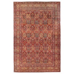 Antique Oversize Persian Kerman Carpet. Size:16 ft 6 in x 26 ft