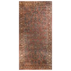 Antique Oversize Persian Sarouk Rug, circa 1900 10' x 21'6