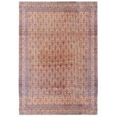 Antique Oversize Persian Tehran Rug Carpet, circa 1900, 11'5 x 23'11