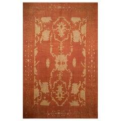 Antique Oversize Turkish Oushak Arts & Crafts Style Rug, circa 1900