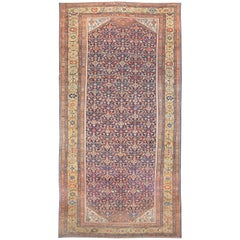 Antique Oversized Persian Sultanabad Rug
