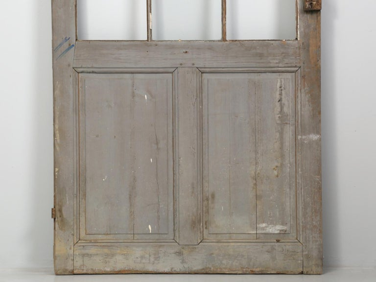 Antique Painted French Door For Sale 9