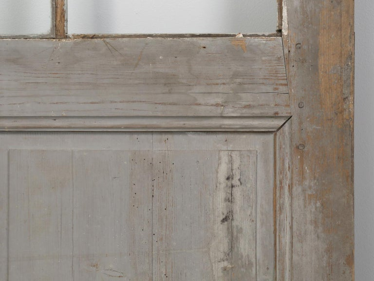 Antique Painted French Door For Sale 10