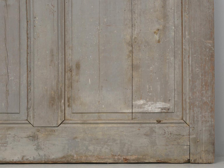 Antique Painted French Door For Sale 11