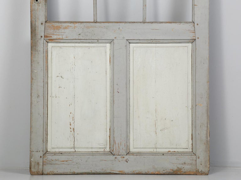 Antique Painted French Door For Sale 1