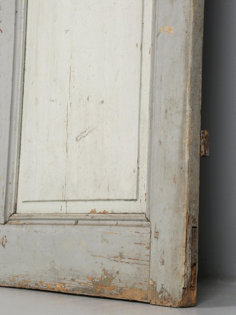 Antique Painted French Door For Sale 2