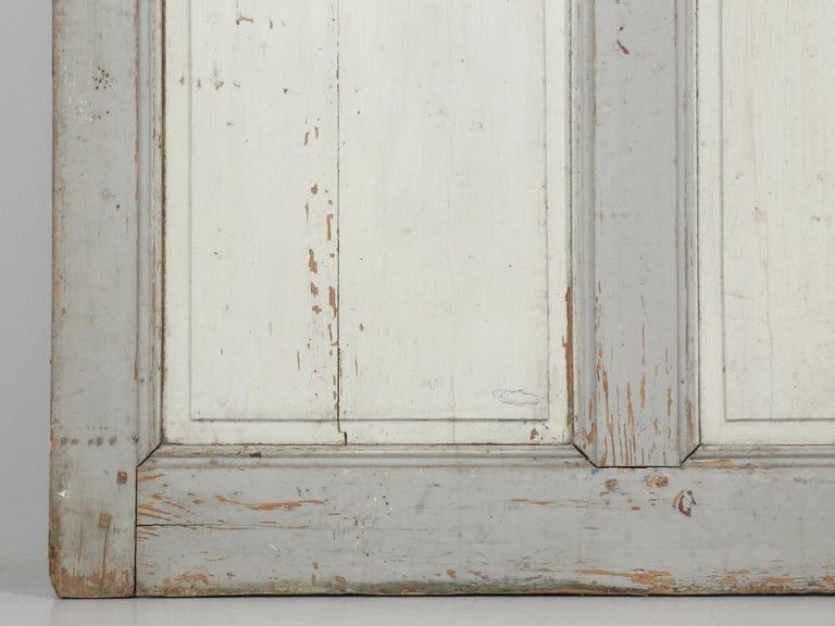 Antique Painted French Door For Sale 3