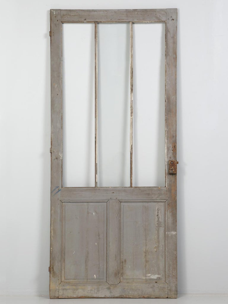 Antique Painted French Door For Sale 4