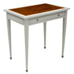 Antique Painted French Writing Desk