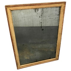 Antique Painted Neoclassical Swedish Mirror