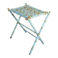 Antique Painted Tray Table