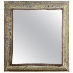 Antique Painted Zinc Mirror