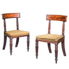 Antique Pair of Chairs, Regency Early 19th Century