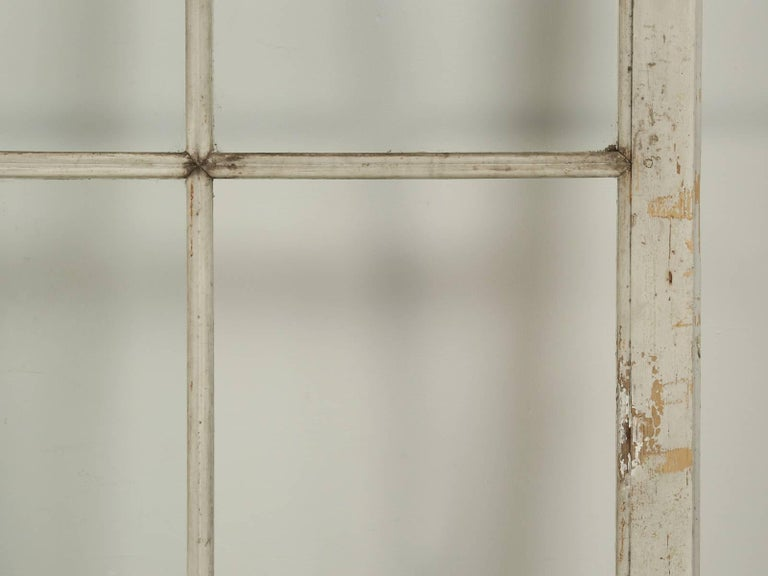 Antique Pair of French Doors in Original Paint, Unrestored For Sale 2