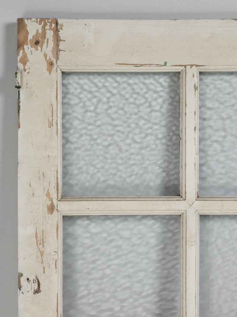 Pair of antique French doors in old paint and in dyer need of restoration, or use as is to create a screen? We have just received several sets of tall 19th century, French doors and all are in old paint and of course all our antique French doors