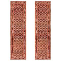 Antique Pair of Persian Kurdish Rug